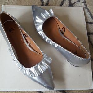Excellent condition H&M Silver Shoes